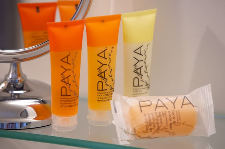 We feature PAYA products inside.