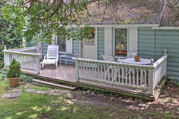 NEW!  'The Spring House' Farmington Studio Cottage in!