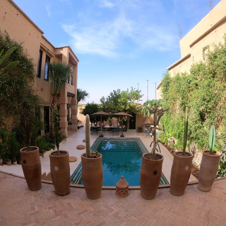 Villa with 7 bedrooms in Taroudant, with private pool, furnished garden and WiFi