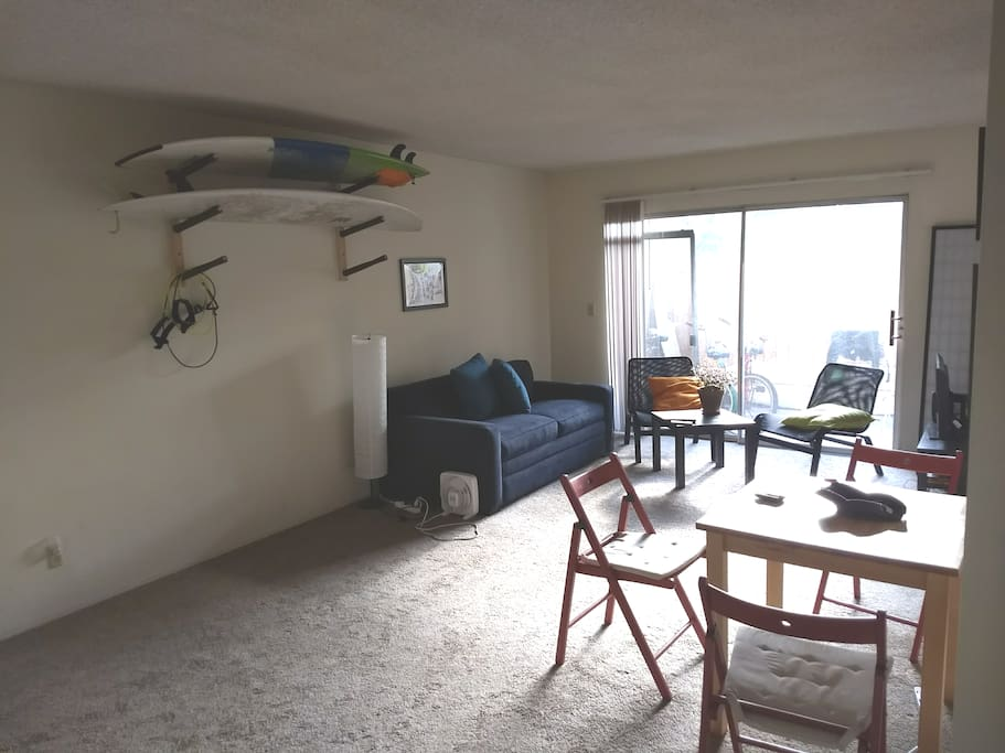 Regular look of the living room