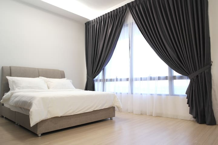 Luxurious Studio Malaysia, 15min to Sunway Pyramid