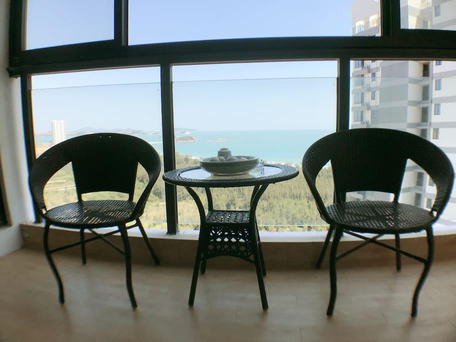 海景公寓阳台