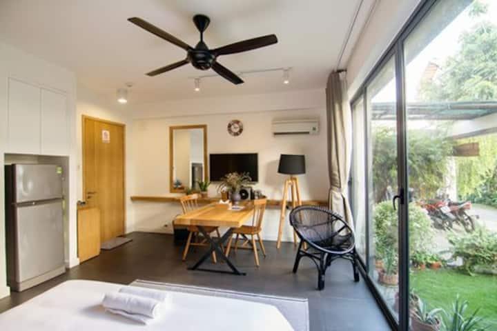 Double Bedroom With Small Garden In Thao Dien Town