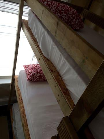 9 Bed bunk room two ensuite shower rooms 1st floor