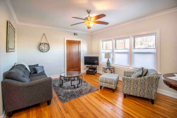 Modern midtown condo in the heart of all the fun!