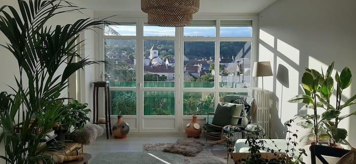 Chenôve/Marsannay : a room by the vineyards