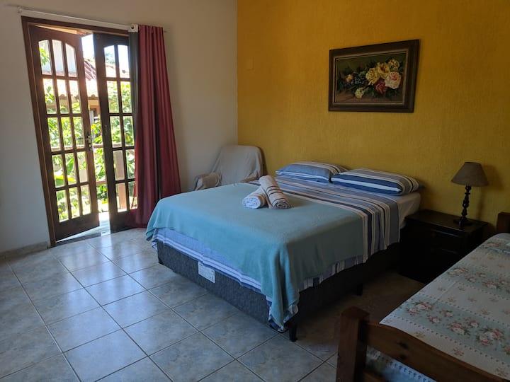 Casa em Búzios, bairro Geribá (ar-condicionado)