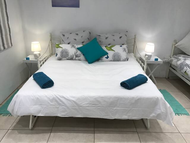 Day Bed Converted to King Bed