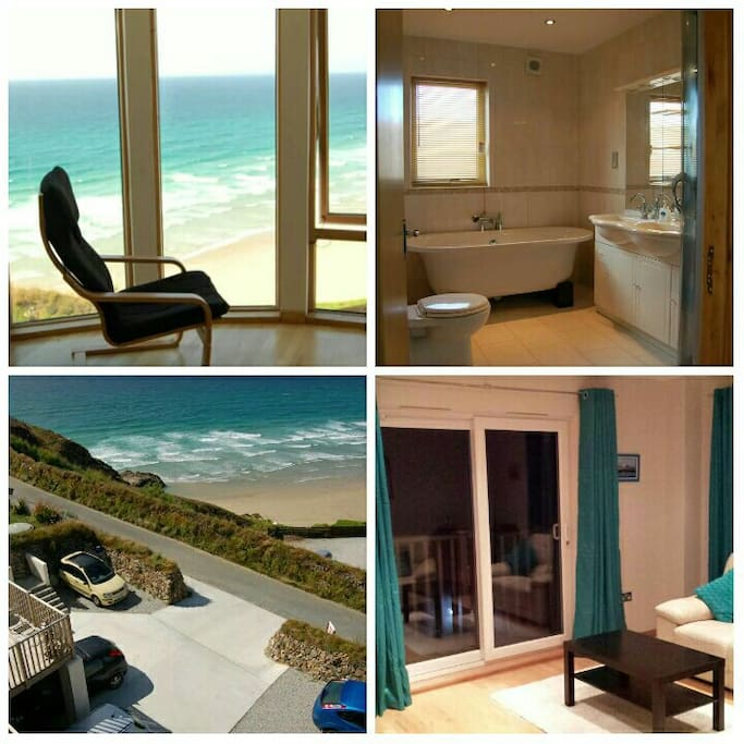 New luxury boutique beach view b b with parking bed and for Luxury boutique bed and breakfast