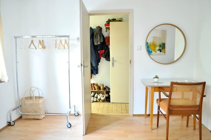 Minimalistic, Artsy, Bohemian room in Heidelberg