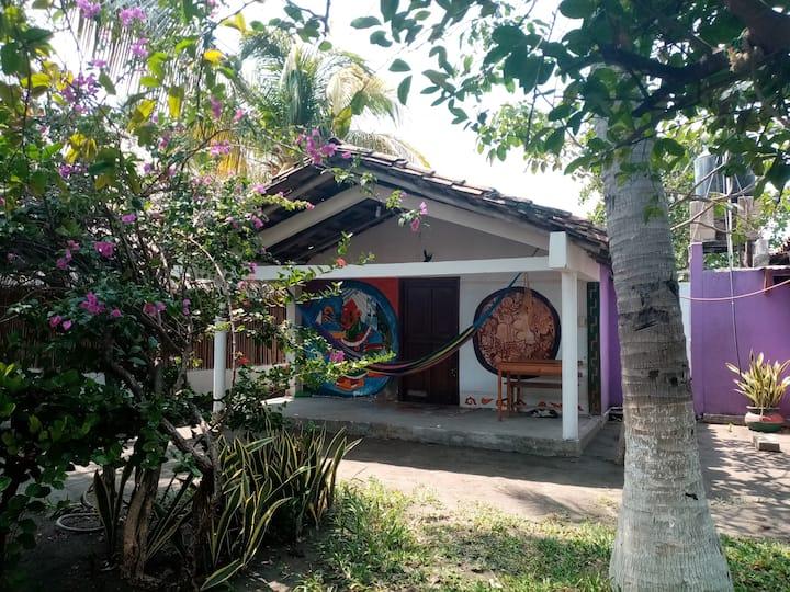 Cabañas Ixchel-Huari paraíso en la playa Atlmeztli