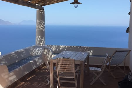 Casa Pigna Blu. Alicudi. Aeolian Islands