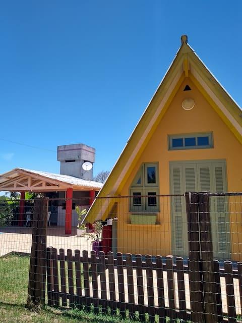 Casa Cabana em  Itapeva - Torres/RS