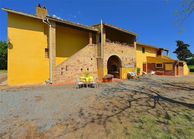 Forno - 5 beds apartment Tuscan countryside - Collesalvetti - Lägenhet