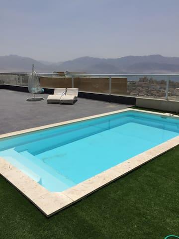 Belle appartement 3 chambres - Eilat - Appartement