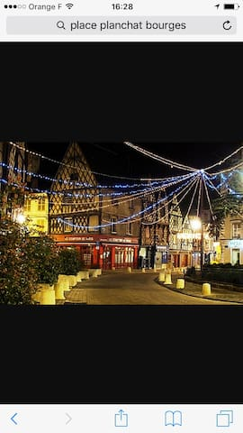Triplex centre ville - Bourges - Byt