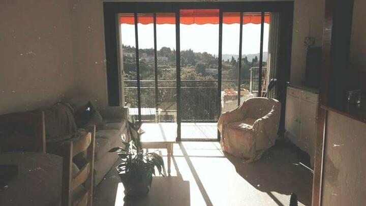 Appartement au calme avec vue imprenable
