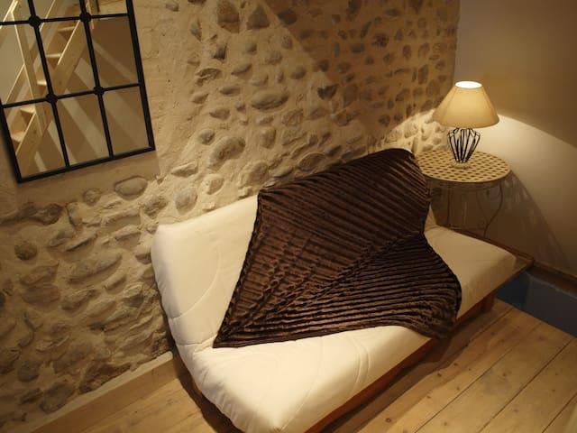 CHAMBRE AU COEUR DE LA PROVENCE - Volonne - บ้าน