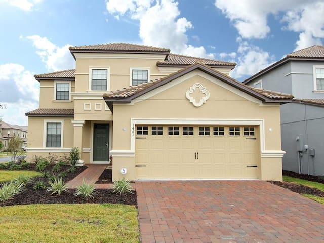 ChampionsGate - Pool Home 5BR/4.5BA - Sleeps 10 - Gold - RCG523 - Four Corners - Vila