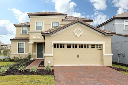 ChampionsGate - Pool Home 5BR/4.5BA - Sleeps 10 - Gold - RCG523 - Four Corners