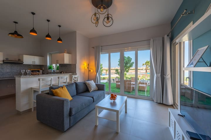 Instagram 1 BR Apartment in Water Side El Gouna
