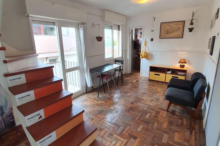 Duplex Aconchegante e Reservado