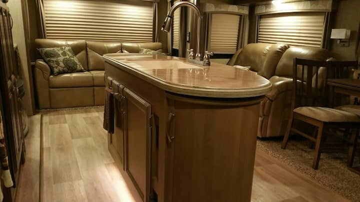 Entire Luxurious Fifth Wheel