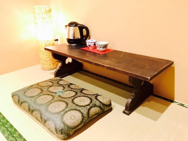上賀茂神社徒歩3分!!guesthouse「丸弥 賀茂川 203号室」
