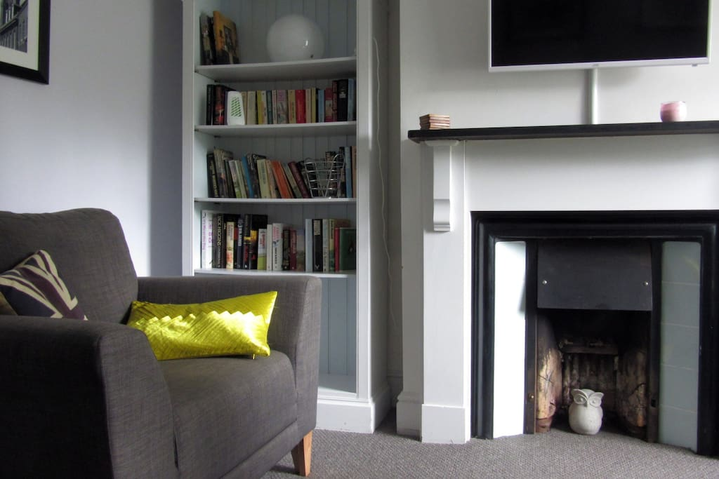 The comfortable lounge in St James Cottage