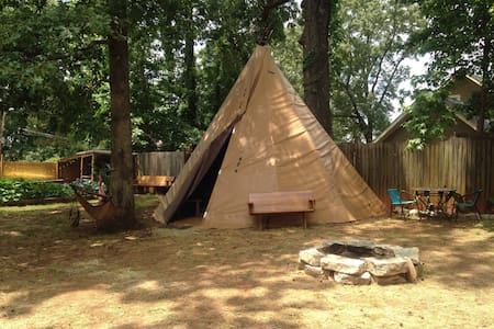 Tepee in the City, with AC! - Atlanta - House