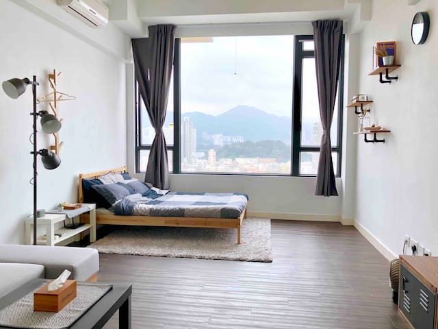 Mongkok Spacious & Cosy Studio-2Beds-Nice View