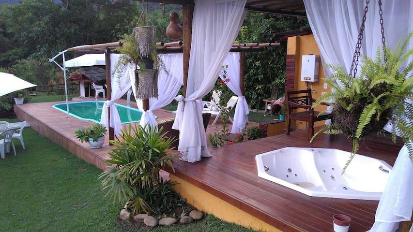 Casa em Barra do Sana Rio Macaé - Macaé - Kulübe