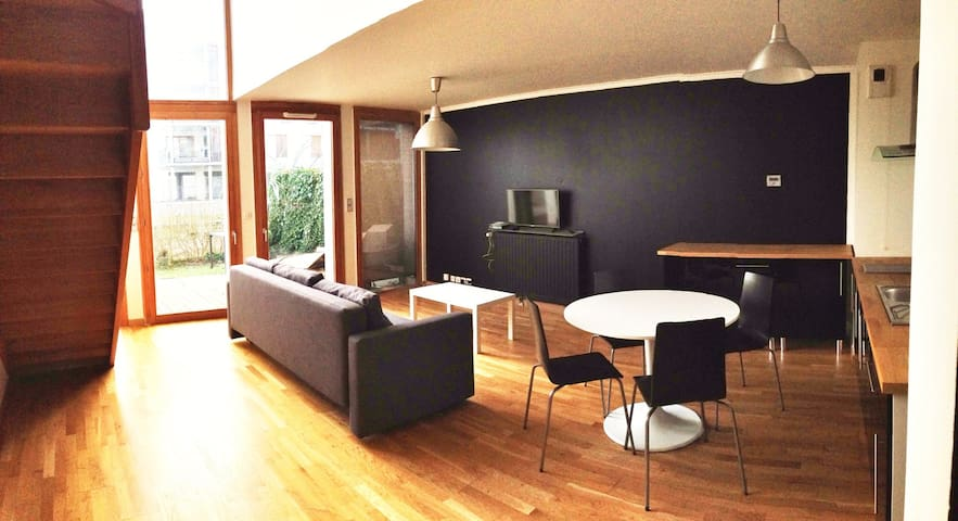Tours, beautiful duplex loft style whit terrace - Tours - Apartment