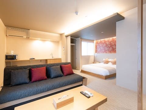 Hotel Rokune◆4 min walk from Nara st/ 42㎡ 3people