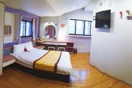 402房2人獨立衛浴套房TAIWAN羅東運動公園夜市Walk散步民 宿 - Luodong Township - Villa