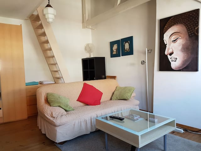 Private studio apartment in Amsterdam center