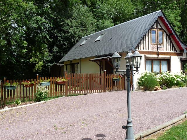 Le Clos Buyragane, Maison de 2 à 6 pers, Normandie