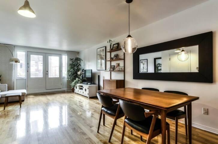 Condo 2 chambres + bureau - Rosemont Petite Patrie