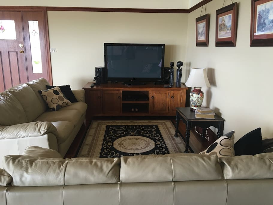 Television room.
