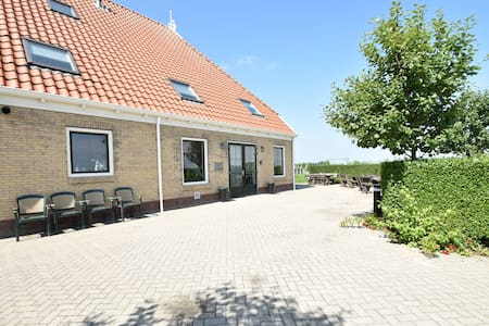 Recreational farm located in a beautiful area of Friesland