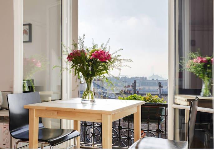 Great View Montmartre studio Paris - Paříž