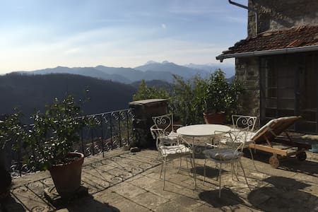 Olives Terrace, near Bagni di Lucca - Apartment
