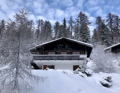 Ski-in Ski-out chalet in Bellwald Zwitserland
