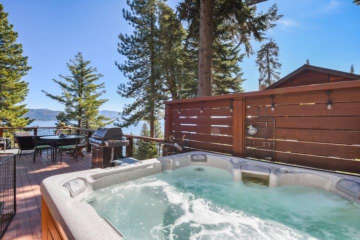 Luna del Lago Luxury Home-Pano Lake Views, Hot Tub