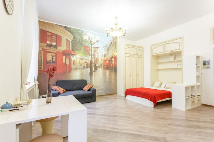 Old Arbat -Studio Apartment near Old Arbat street