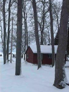 Little rustic cabin.
