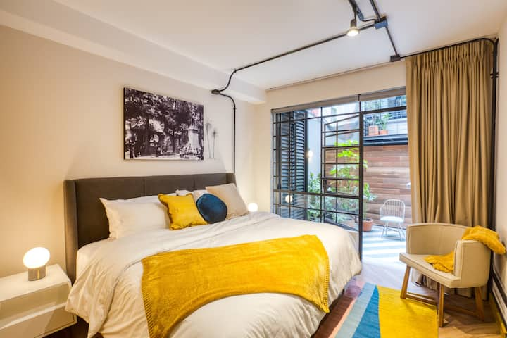 Stylish apartment in the heart of Condesa