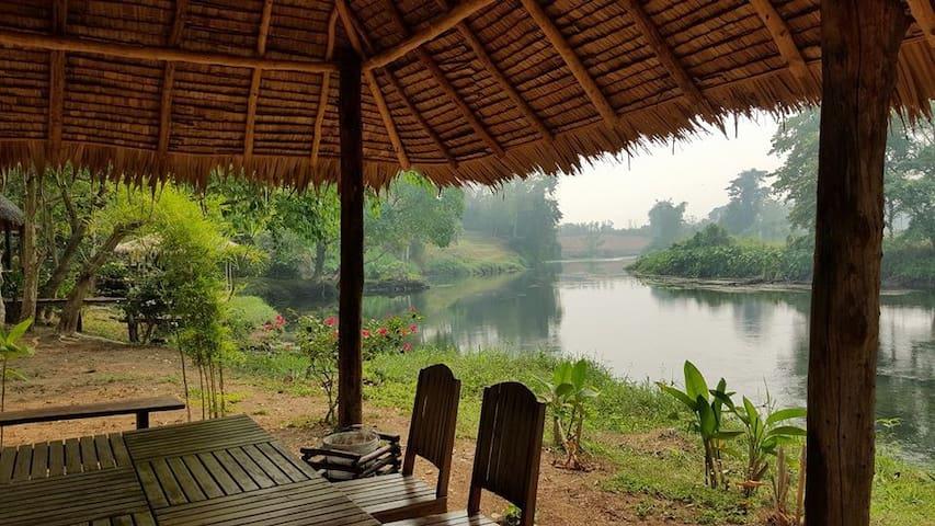 Petchaburi River Cabin - Tambon Klat Luang - Cabaña