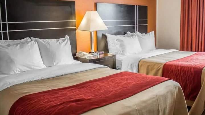 Norwood Inn Columbus - Standard 2 Queen Bed Non-Smoking