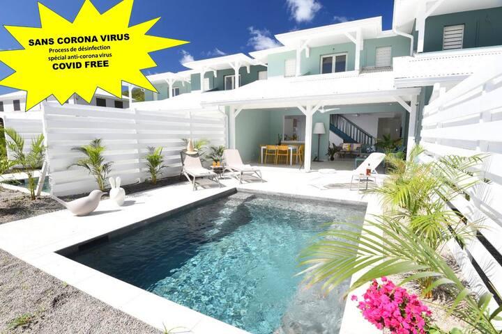 Villa de standing - ACCES DIRECT A LA PLAGE - Sun Rock/banc de sable